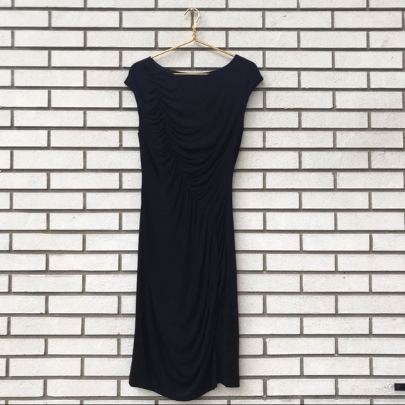 where can i buy best supplier special section LK Bennett Dresses | L K Bennett Black Ruched Sheath Cocktail ...